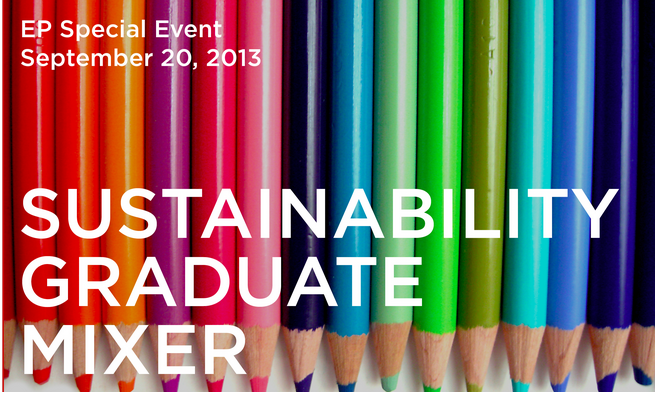 USGBC: SUSTAINABILITY GRADUATE MIXER