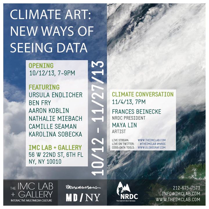 Climate Art: New Ways of Seeing Data