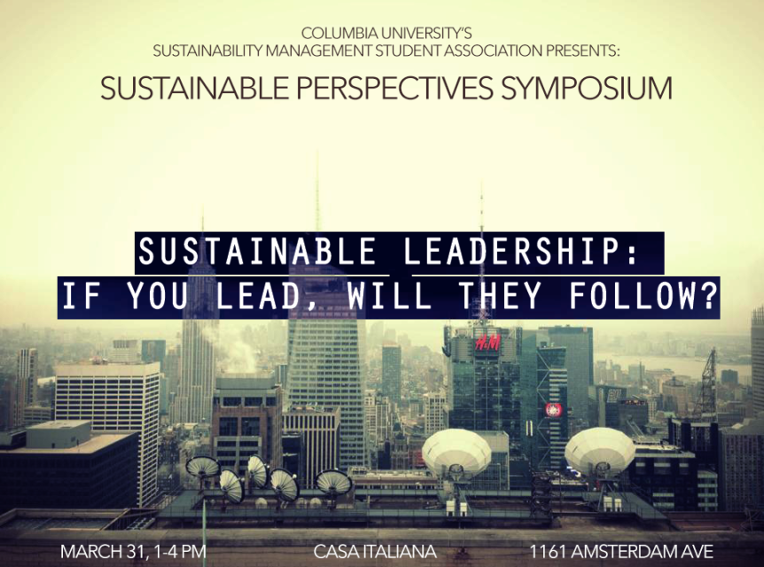 SAVED THE DATE: Sustainable Perspectives Symposium